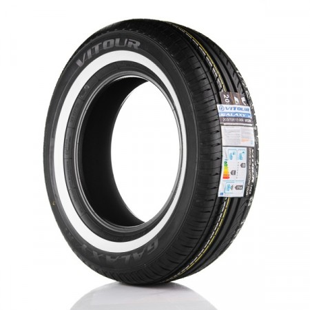Vitour Galaxy R1 155/80R15 15mm hvitside
