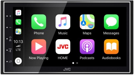 "JVC KW-M745DBT, 2-DIN, DAB+, 6.8"", Android Auto / Apple CarPlay"