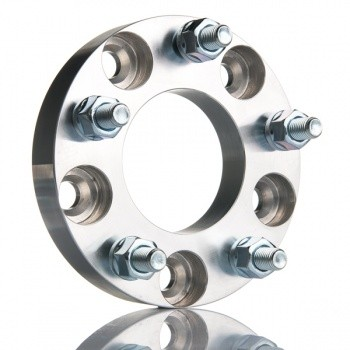 2 stk spacer, 5x120 / 5x120, 25mm