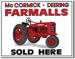 Farmall Sold Here