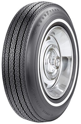 "Goodyear Power Cushion 775-15 med 5/8"" hvitside"