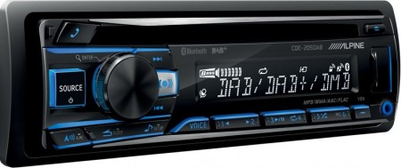 ALPINE CDE-205DAB, CD/FM/DAB-radio, Bluetooth, 4x50W
