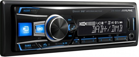 ALPINE UTE-93DAB, DAB+/FM, BLUETOOTH, FACEBOOK