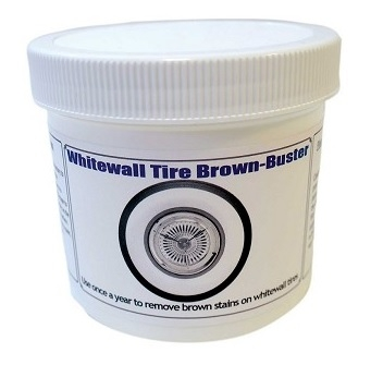 Whitewall Tire Brown Buster - 12 oz