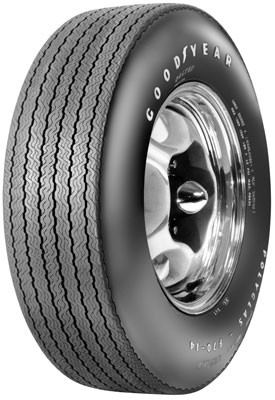 Goodyear E70-14 Custom Wide Tread Polyglas RWL E/S