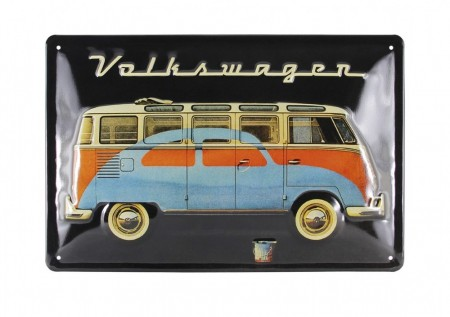 VW T1 og boble - Sort