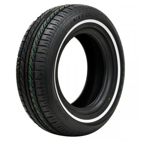 Vitour Galaxy F1 155/80R13 8mm hvitside