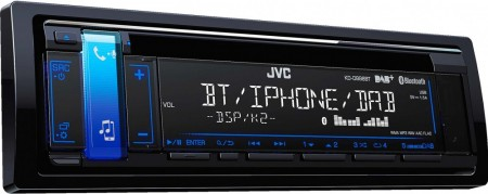 JVC KD-DB98BT, DAB+, FM, CD, BLUETOOTH, AUX/USB, IPOD