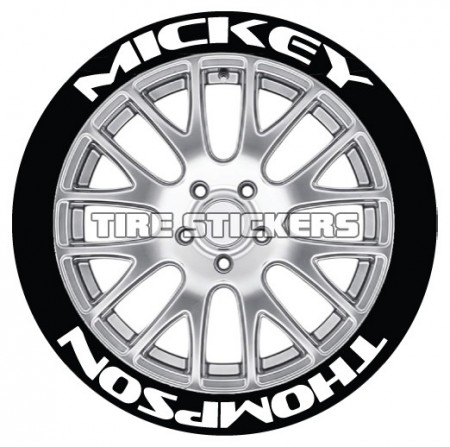 Mickey Thompson standard - 8 dekaler